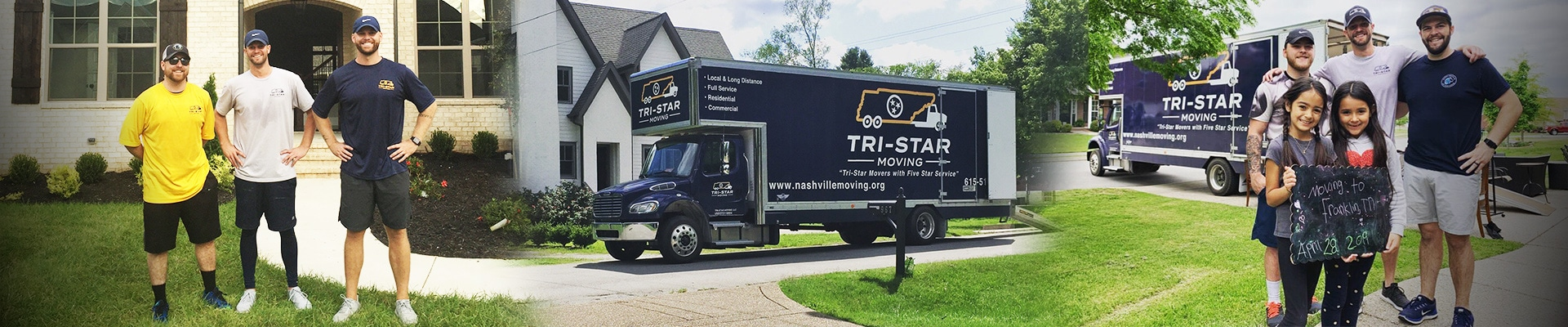 Tri-Star movers and family being moved